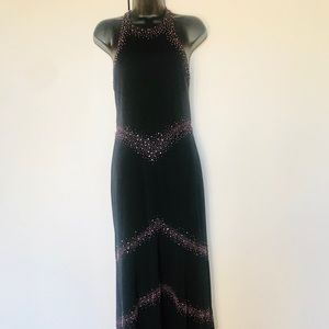 Vintage Morgan & Co. Backless Gown